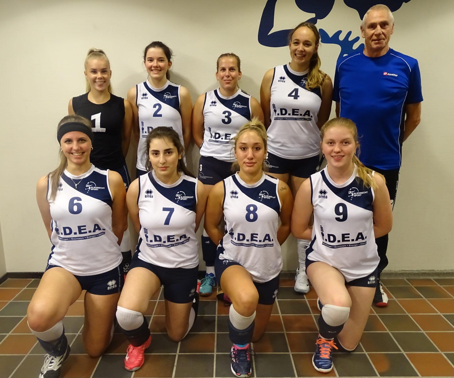 Dames 6 zoekt nieuwe speelsters én een coach