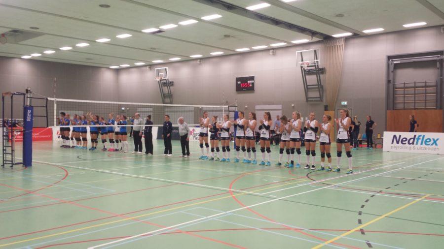Dames 1 wint eerste competitiewedstrijd