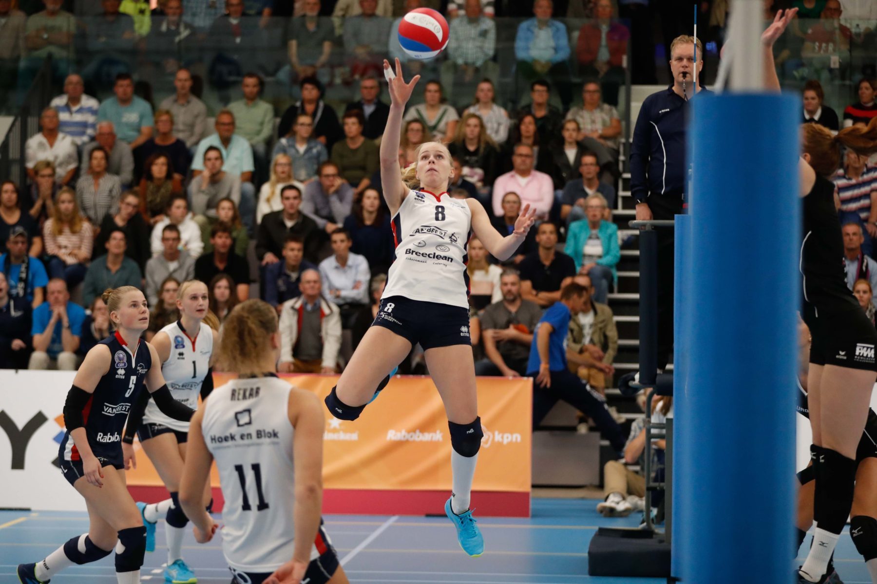 'Als ik niet volleybal dan…' door Demi Korevaar
