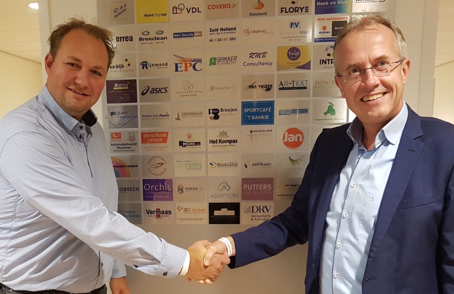 Sliedrecht Sport verwelkomt Van den IJssel Bedrijfskleding bij Business Club