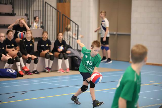 84 teams maken spektakel van Toetstoernooi Volleybalschool Drechtsteden