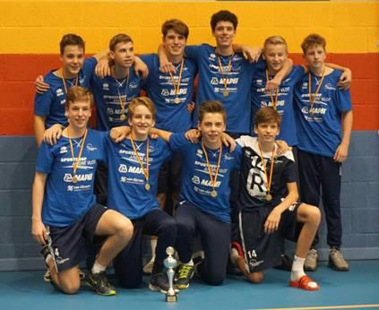 Jongens B wint Dynamo-toernooi