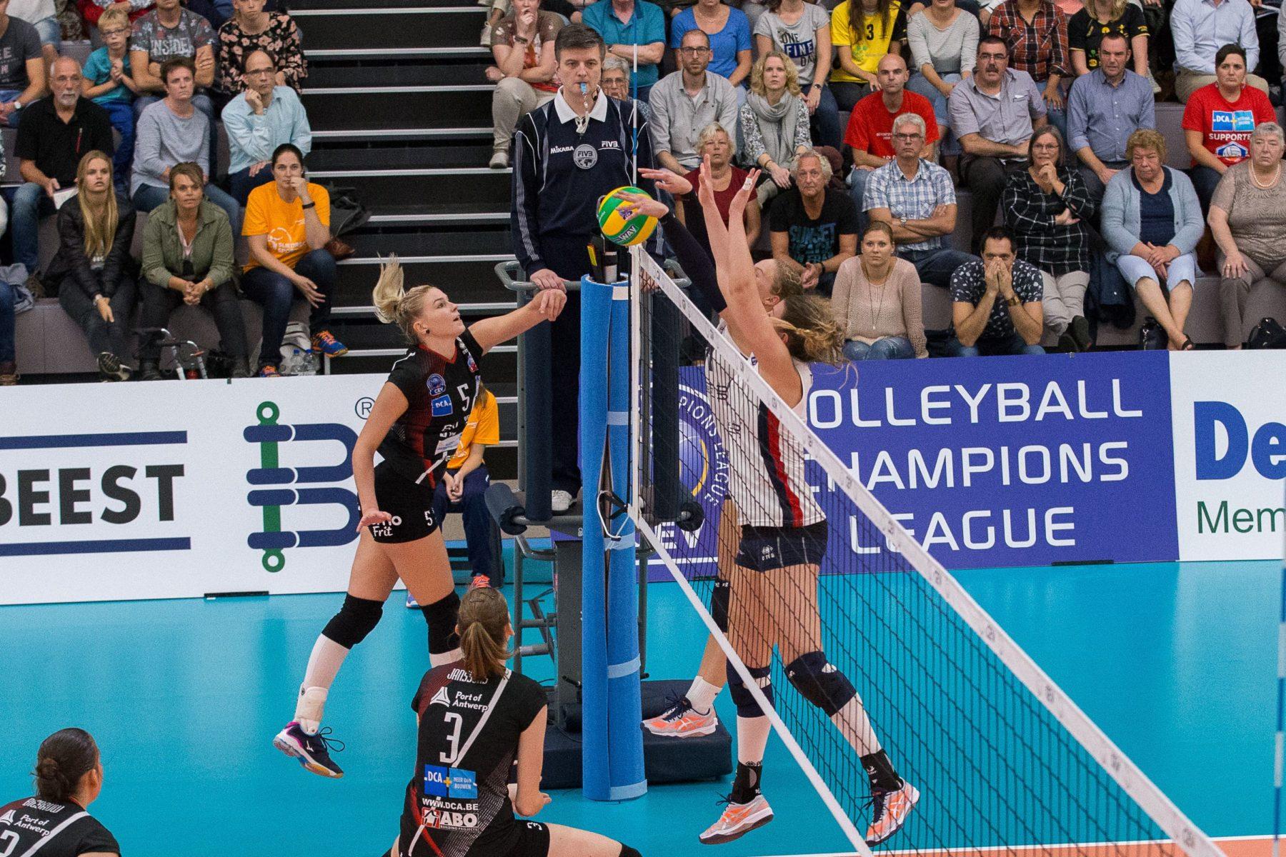 Sliedrecht Sport-dag start volleybalseizoen spectaculair