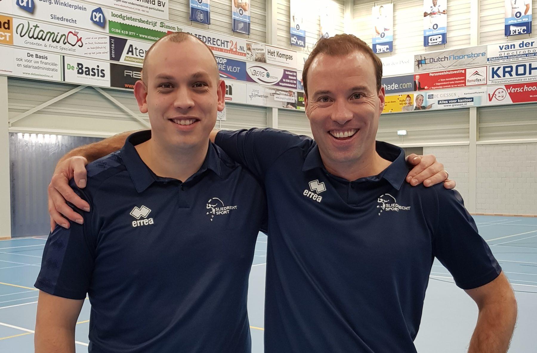Paul van der Ven en Marnix Elbers verlengen bij H1