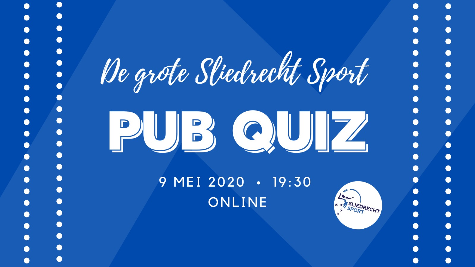 9 mei: Online Sliedrecht Sport Pub Quiz