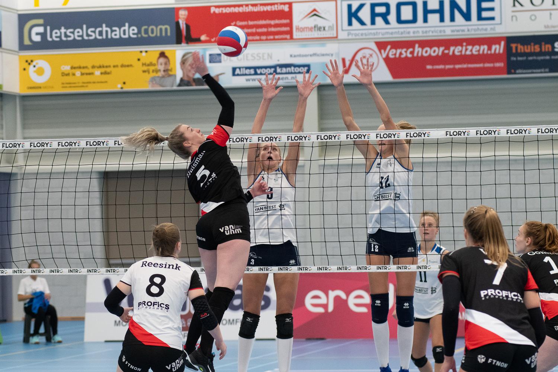 Dames 1 start Eredivisie met verlies