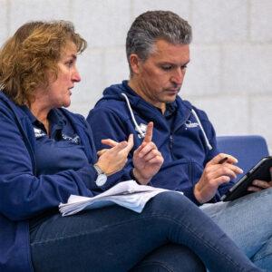 Coaches Dames 1 staan ook volgend seizoen voor de groep
