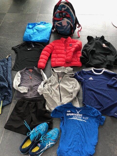 Gevonden kleding